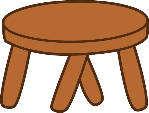 small resolution of stool clipart
