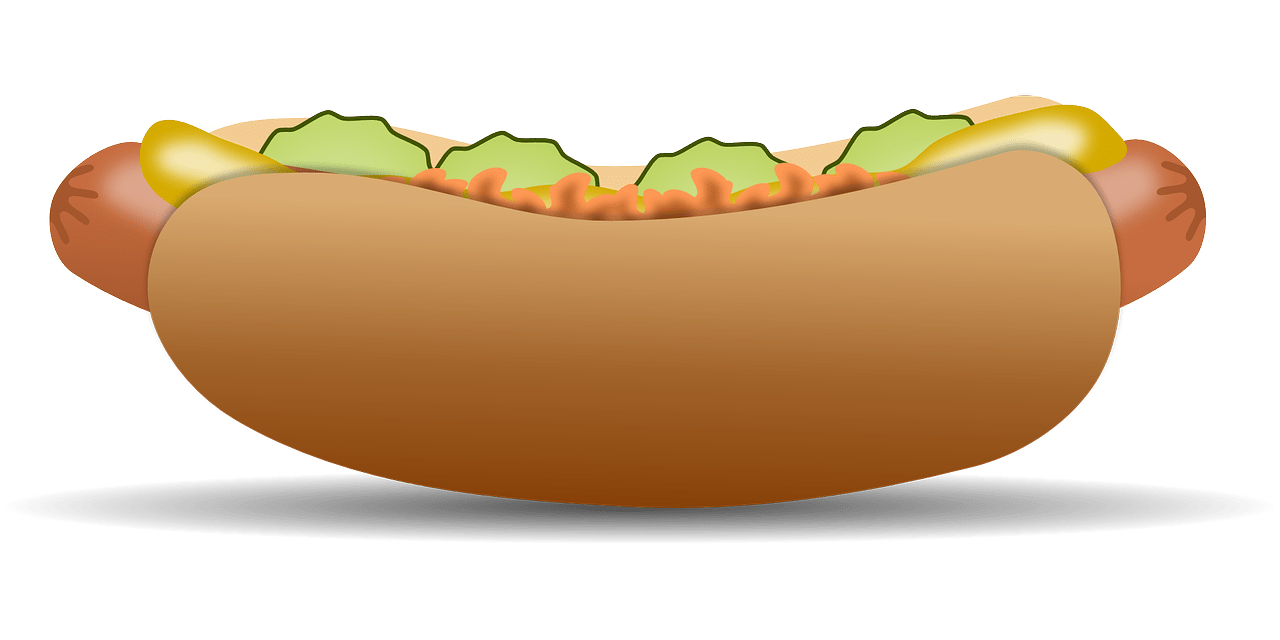 hight resolution of free to use public domain hot dog clip art