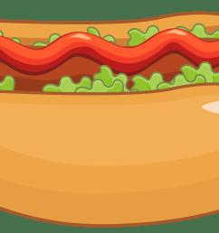 hot dog clipart [ 4000 x 2420 Pixel ]