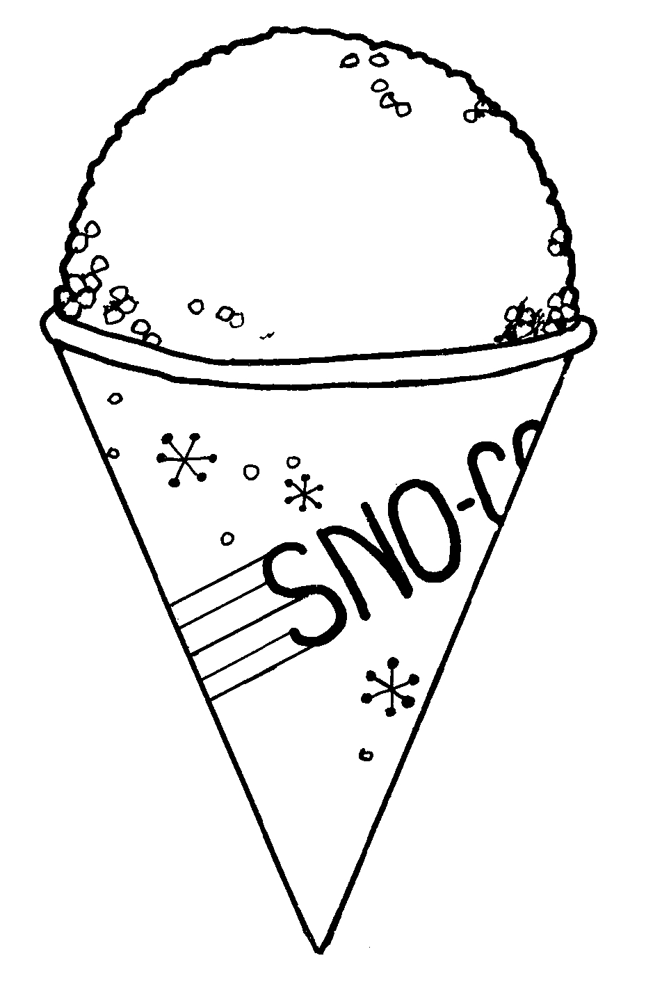 medium resolution of snow cones logo clipart