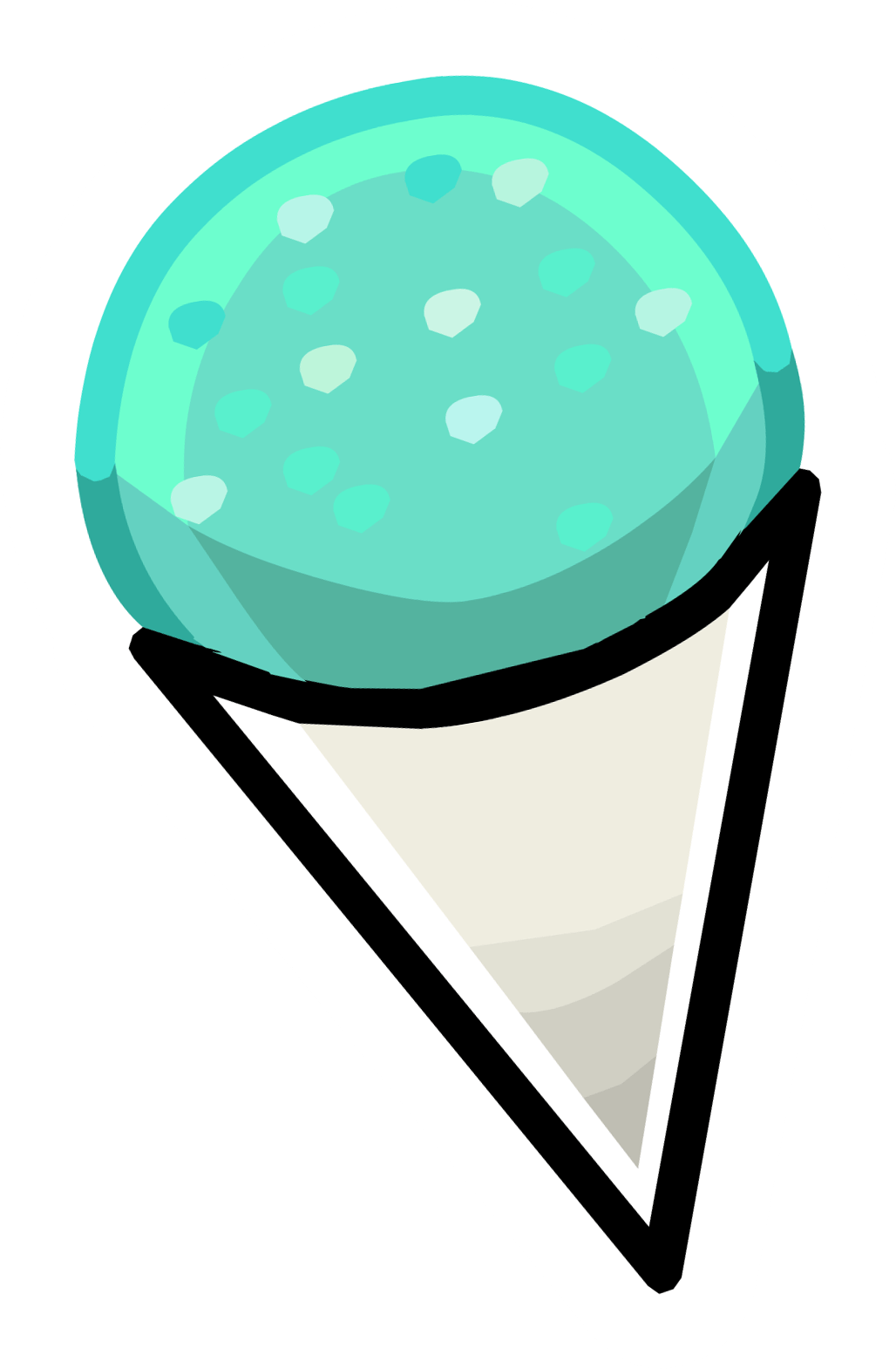 hight resolution of snow cones logo clipart