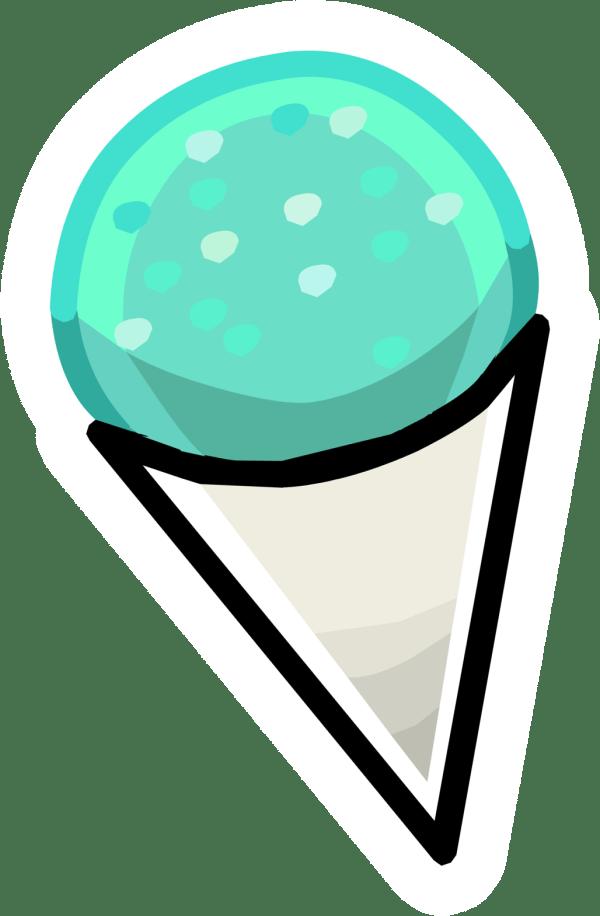 Snow Cones Logo Clipart