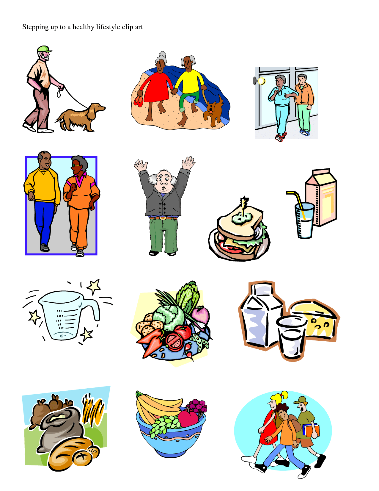 Free Healthy Living Cliparts Download Free Clip Art Free