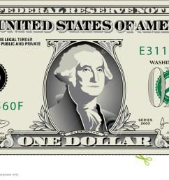 free dollar bill clip art 1 [ 1300 x 635 Pixel ]