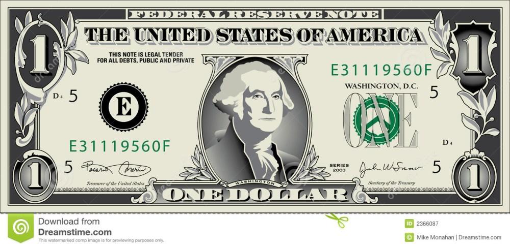medium resolution of free dollar bill clip art 1