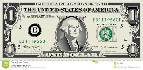 small resolution of free dollar bill clip art 1