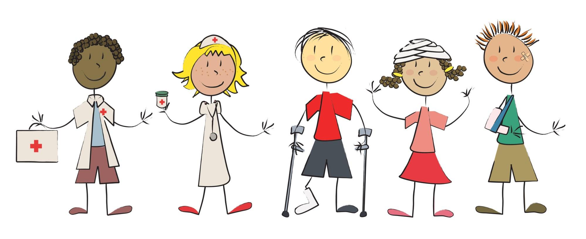 hight resolution of free clipart school nurse 34