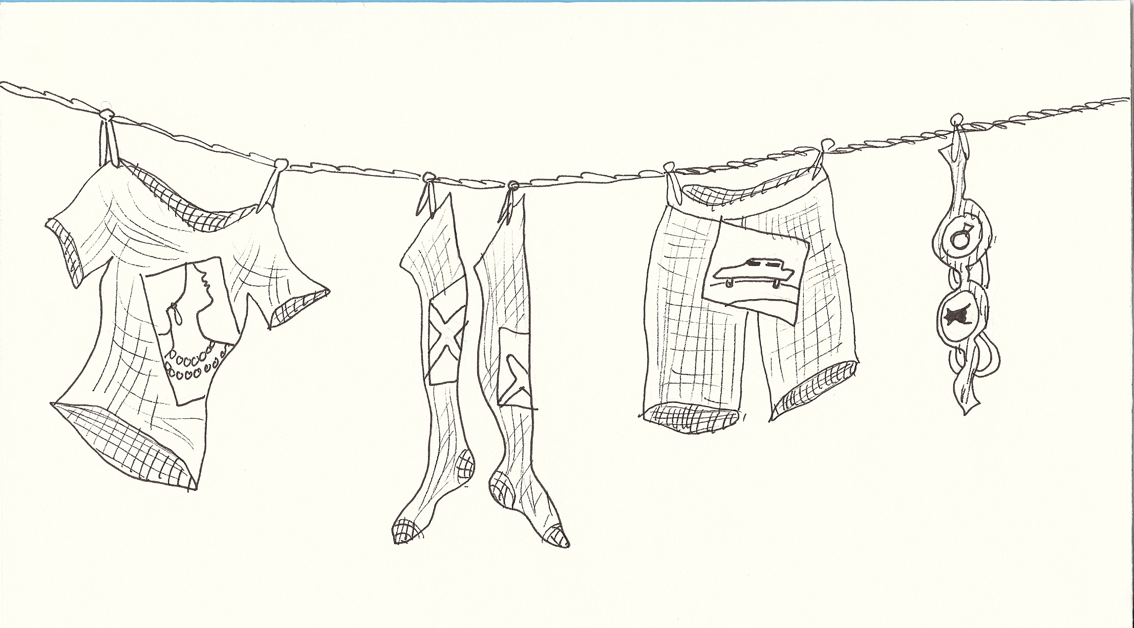 Writer Wednesday Prompt 25 Dirty Laundry Zoomer