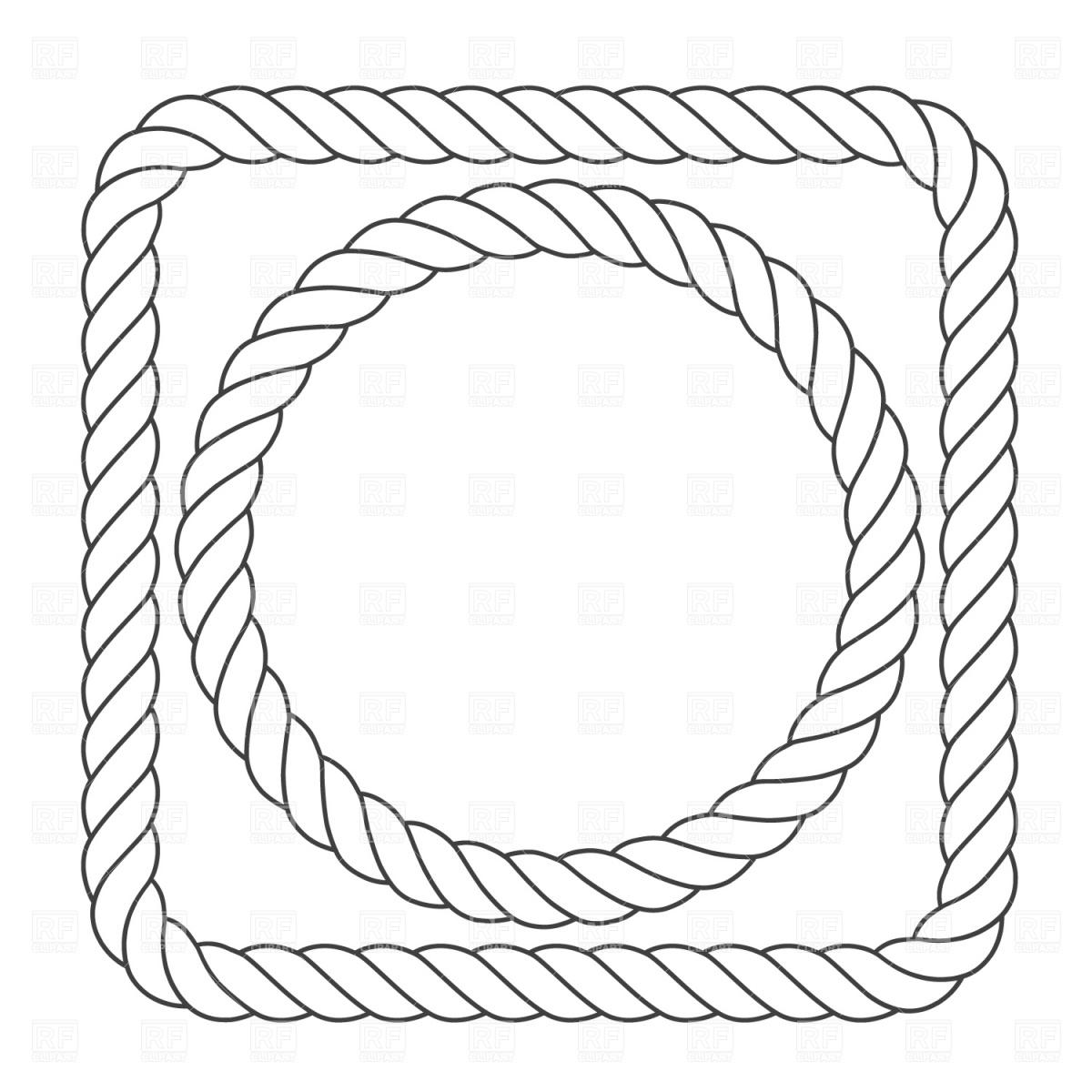 Clipart Rope Border Circle