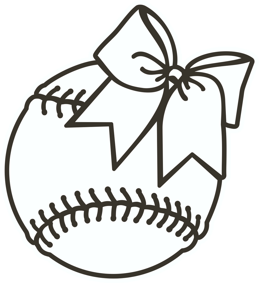 Yellow softball clipart clipartfest