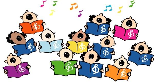 free choir singers cliparts