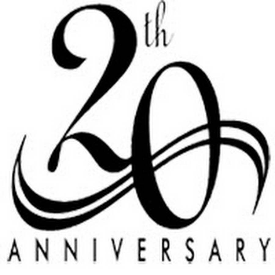 20th Anniversary Clip Art