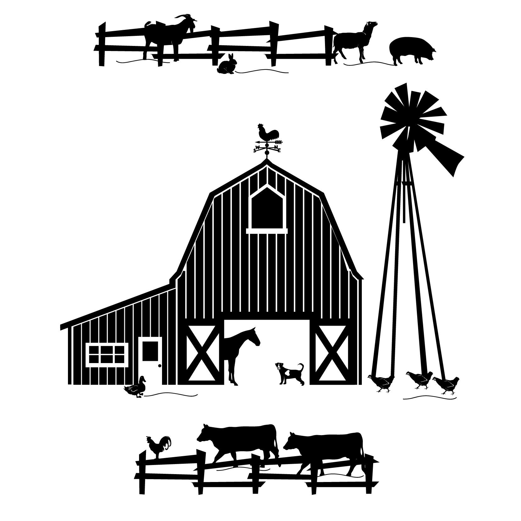 Free Farm Scene Cliparts Download Free Clip Art Free
