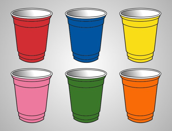 free plastic cup cliparts