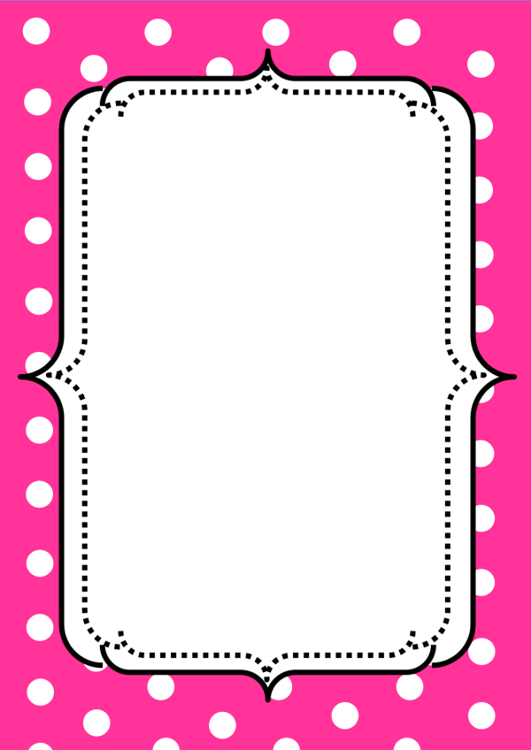 Free Pink Borders Cliparts Clip Art