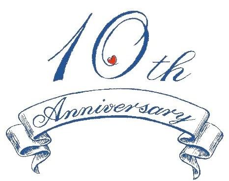 free 10th anniversary cliparts