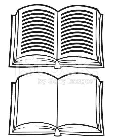 Clipart Book Black And White : clipart, black, white, Black, White, Book,, Download, Clipart, Library
