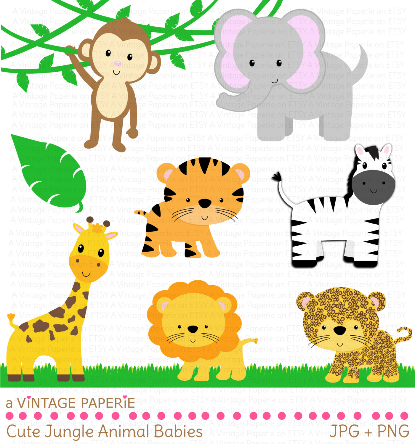 Preschool Printable Animal Clipart