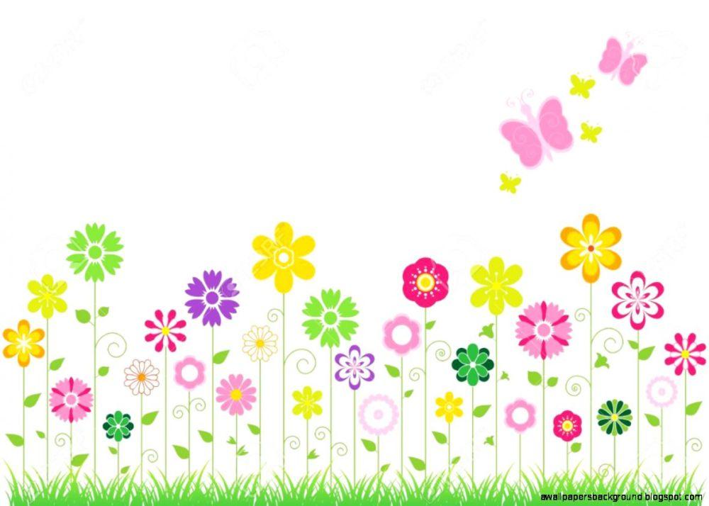 medium resolution of spring clipart background