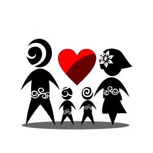 free family love cliparts