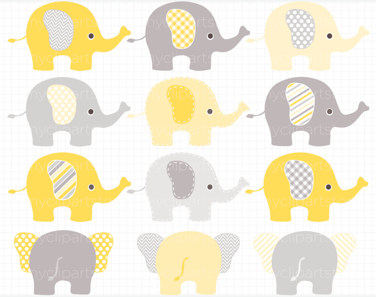 Free Grey Elephant Cliparts, Download Free Clip Art, Free