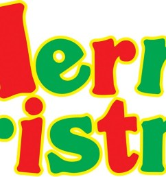 merry christmas banner clipart [ 1600 x 542 Pixel ]