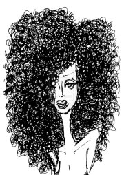free curly hair cliparts