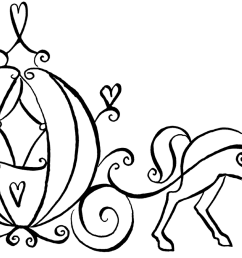 wedding carriage clipart [ 1600 x 910 Pixel ]