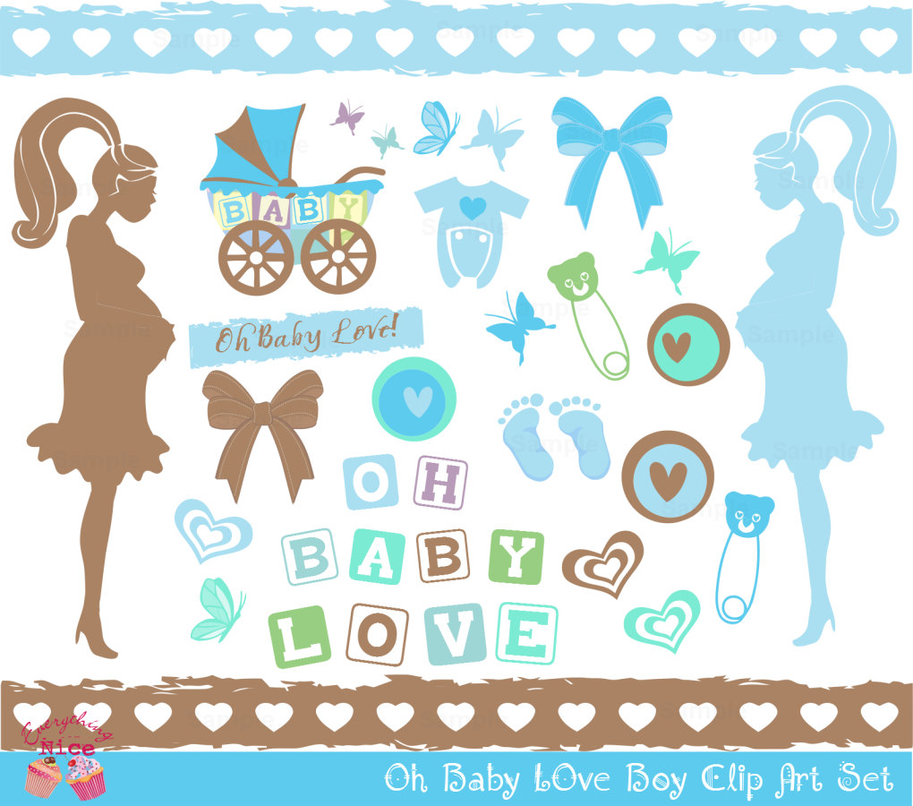 hight resolution of baby love clipart boy