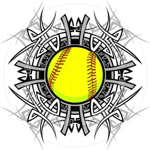small resolution of softball clipart