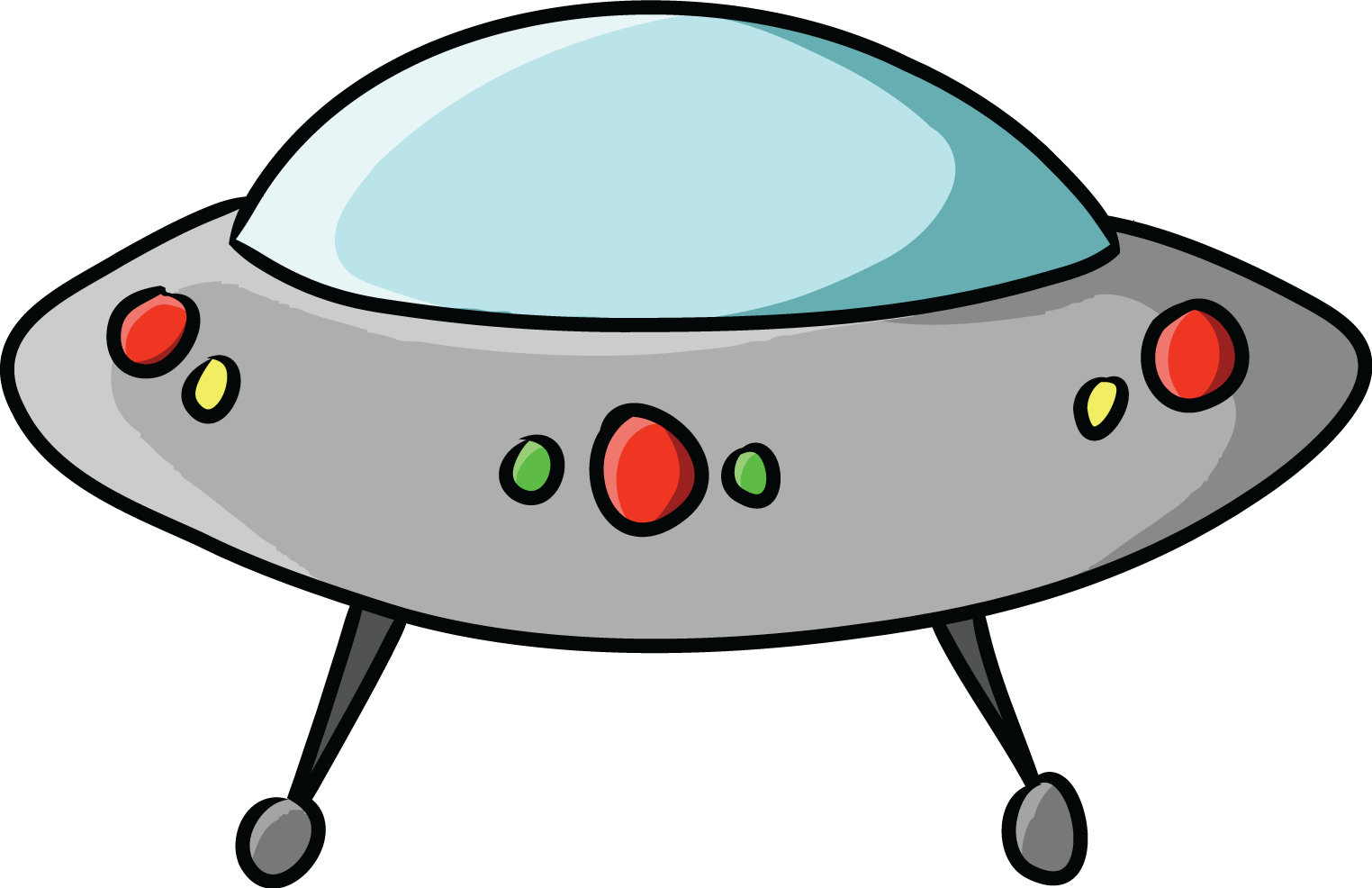 hight resolution of alien alien spaceship clipart