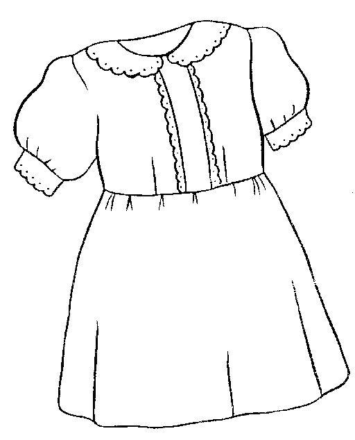 Annie dress clipart