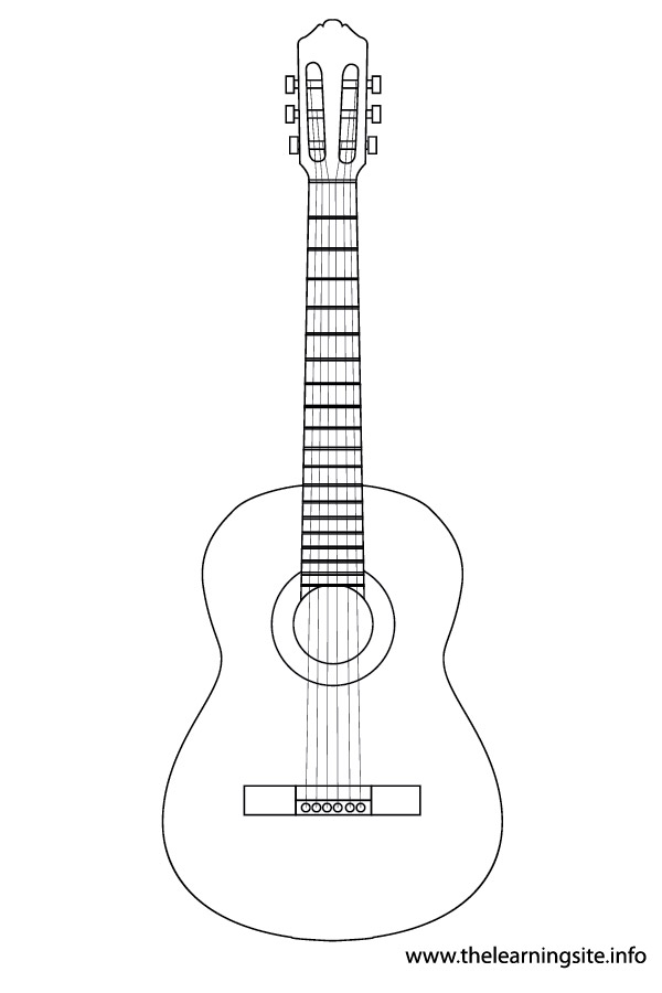 Free Guitar Outline Cliparts, Download Free Clip Art, Free