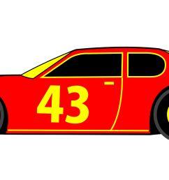 race car clip art [ 6500 x 2555 Pixel ]