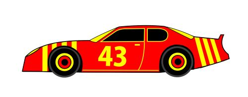 small resolution of race car clip art