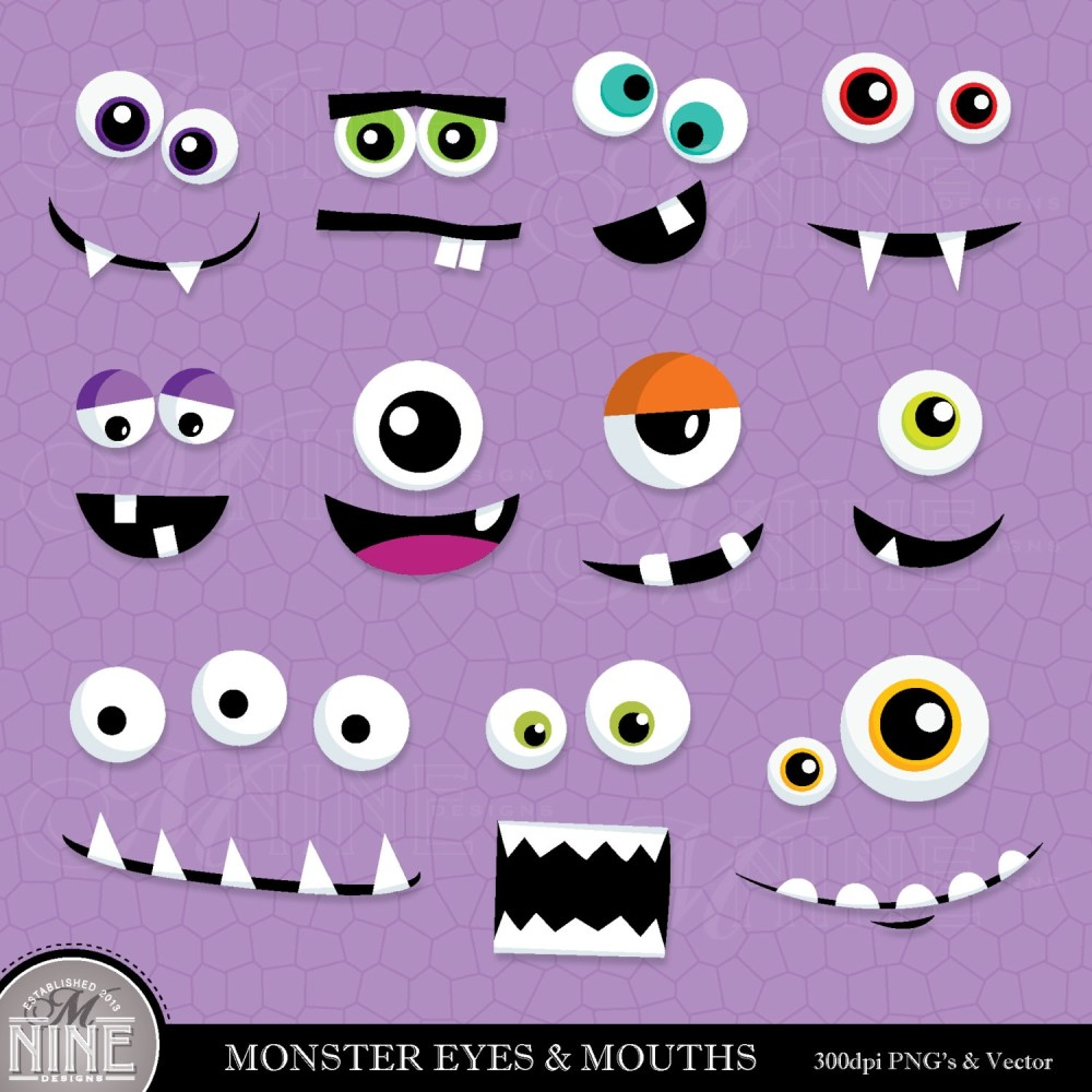medium resolution of monster eyes free clipart