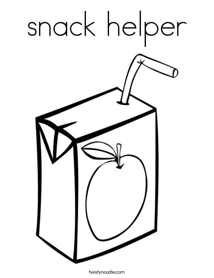 Snack Helper Clipart