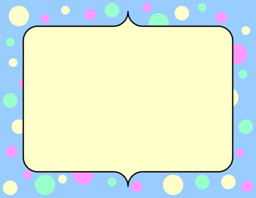 small resolution of cute frame clipart