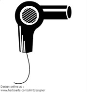 free blow dryer cliparts