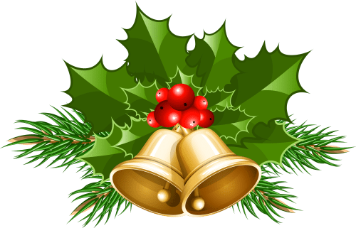 small resolution of large transparent christmas bells png clipart
