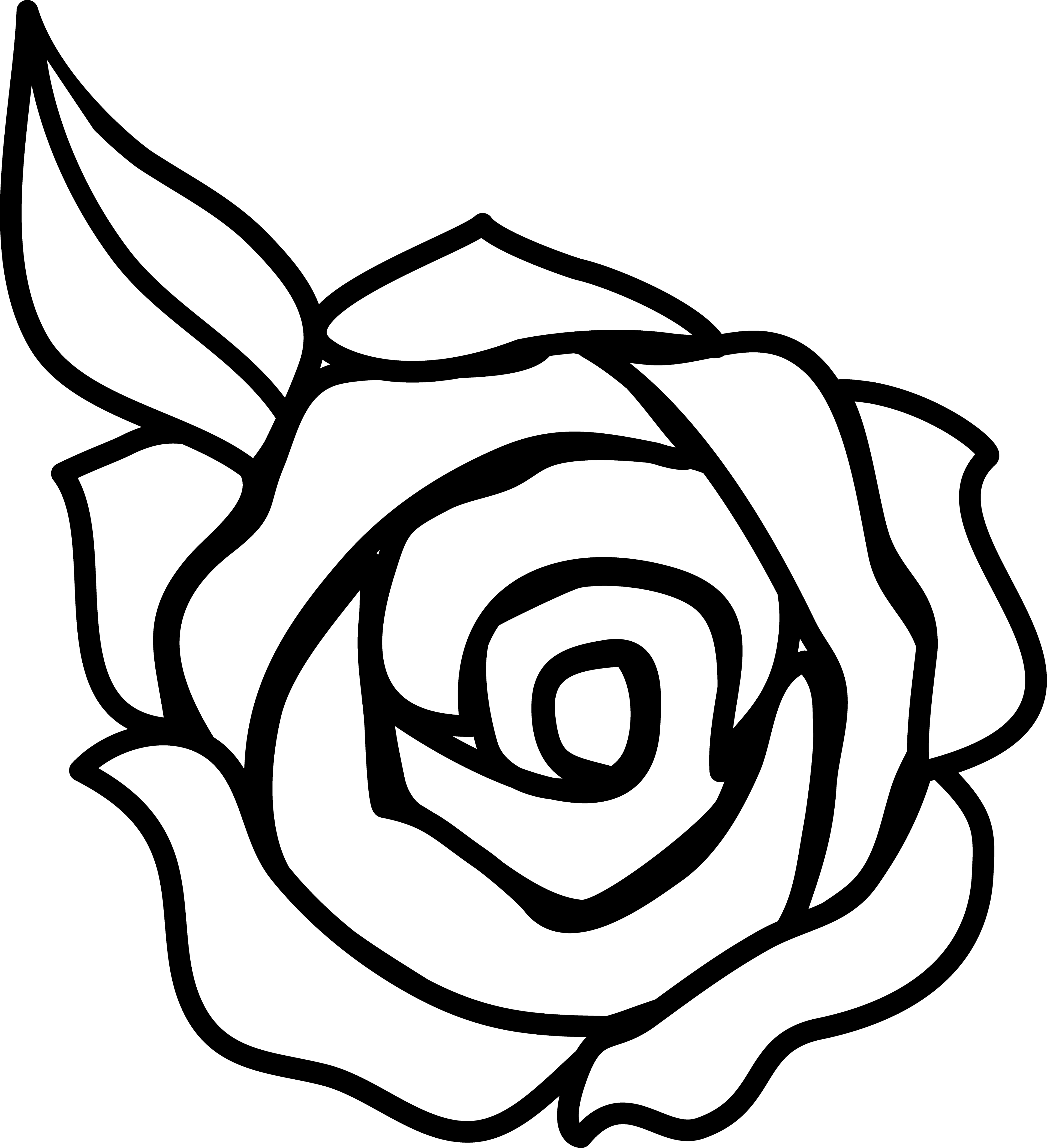 Free Rose Flower Cliparts Download Free Clip Art Free