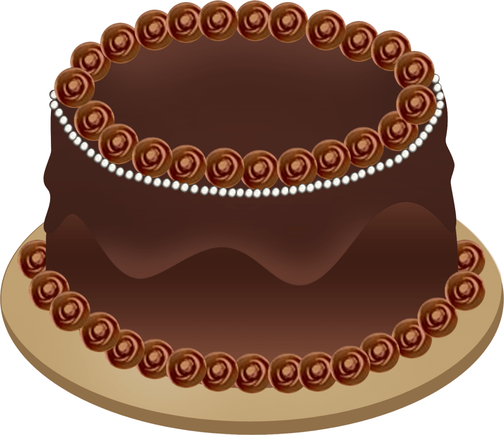 medium resolution of chocolate cake clipart png