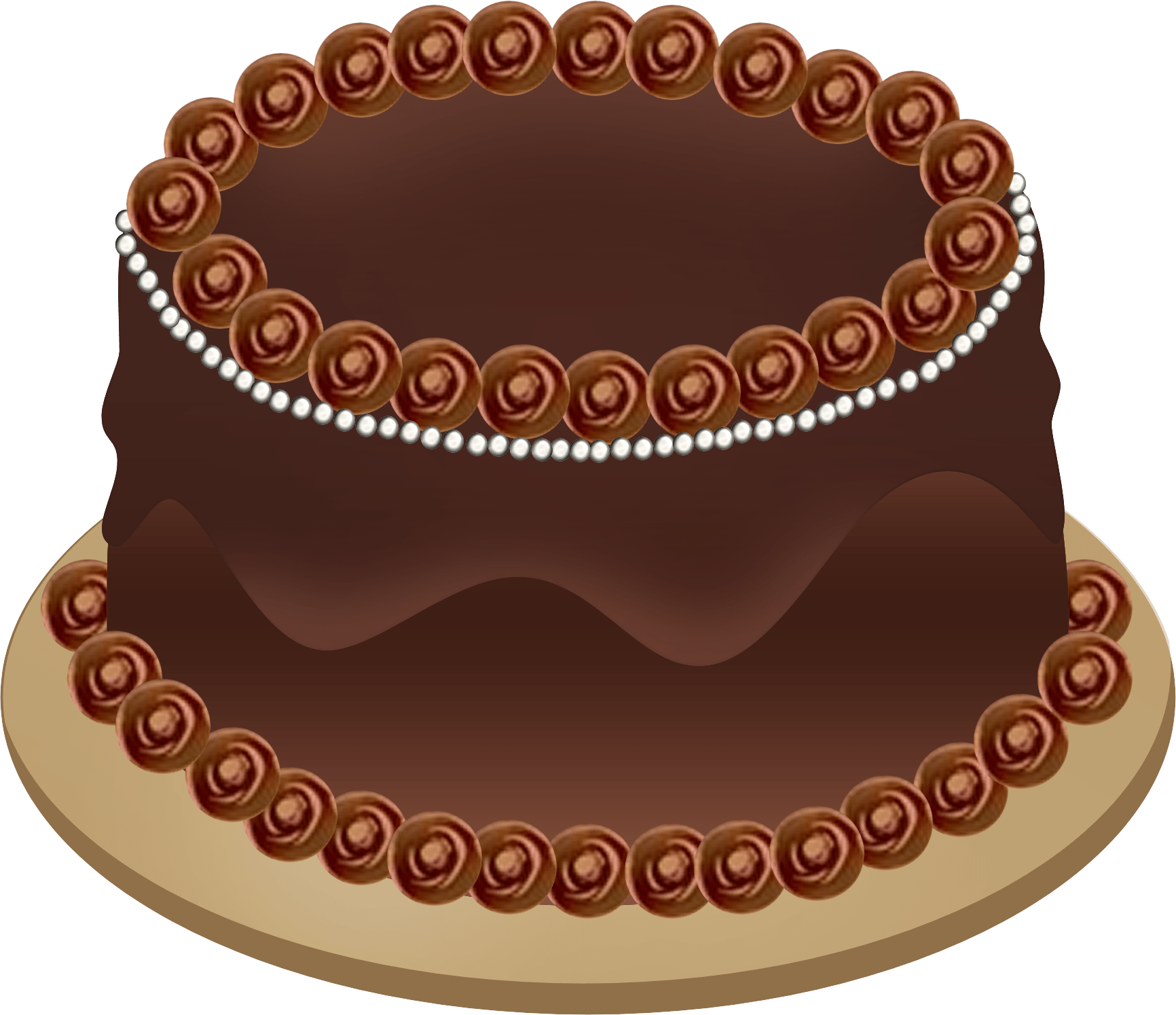 hight resolution of chocolate cake clipart png