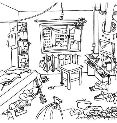 Free Messy Room Cliparts, Download Free Clip Art, Free