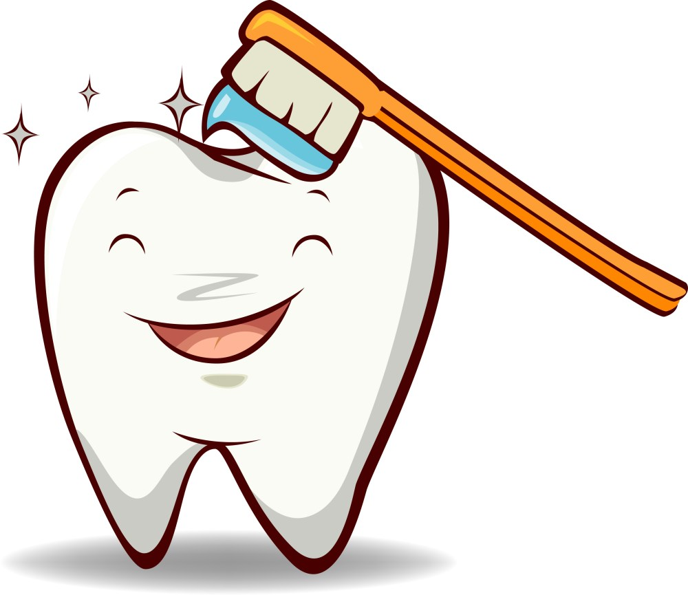 medium resolution of dental cleaning clipart brush