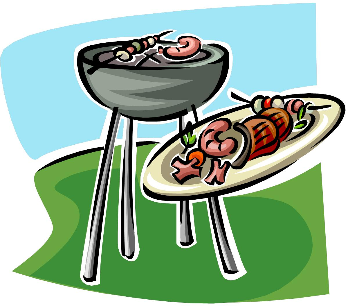 hight resolution of cookout clipart