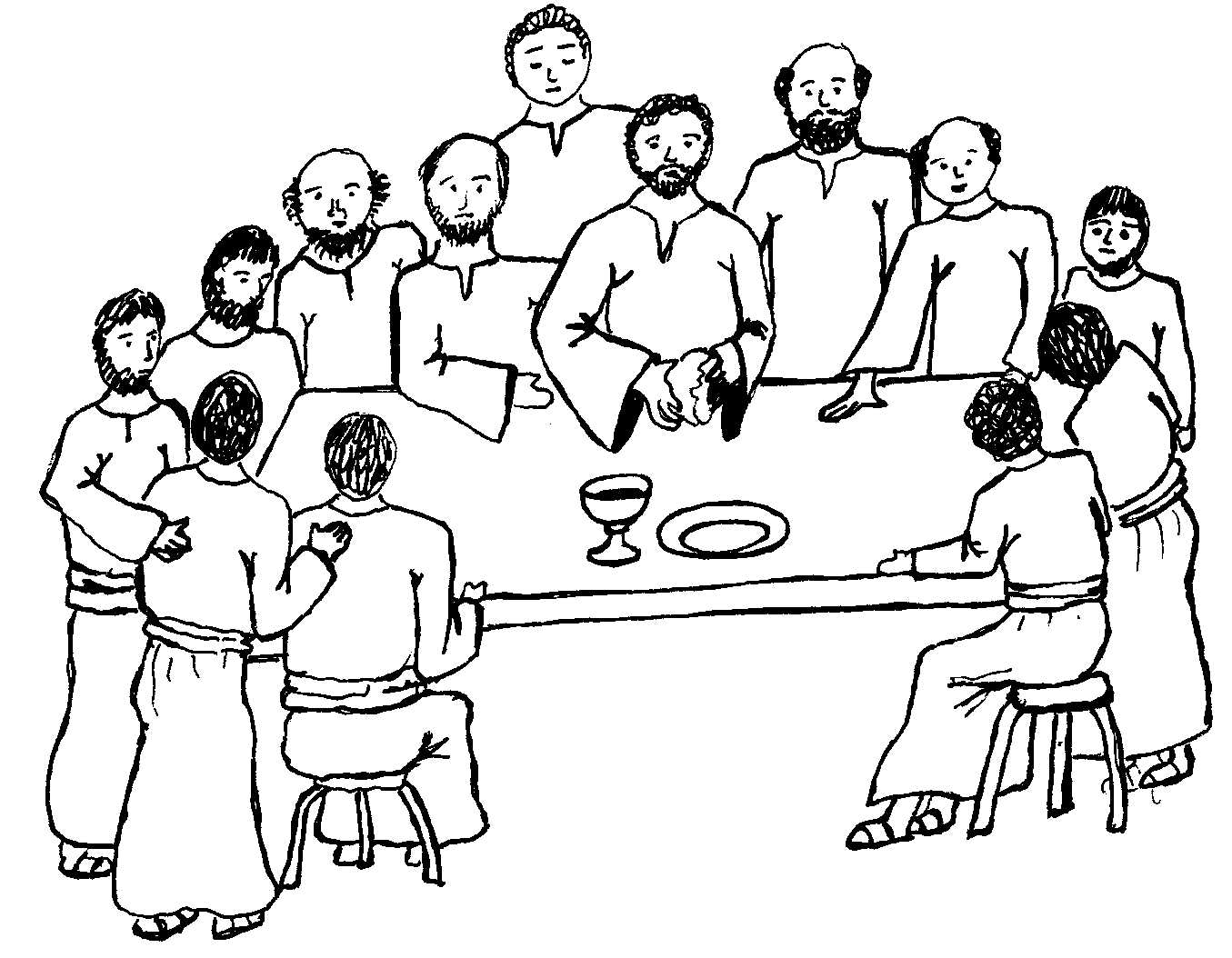 Supper Clipart