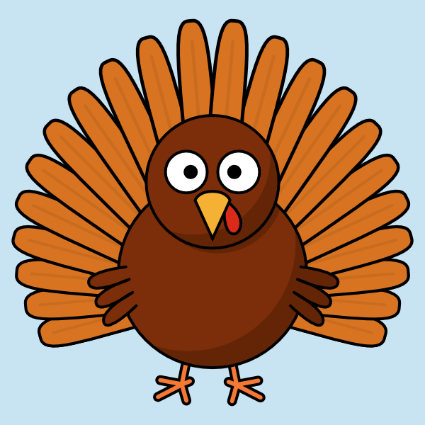 Turkey Drawing Clip Art Library