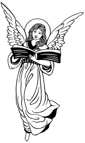Black Angels Clipart
