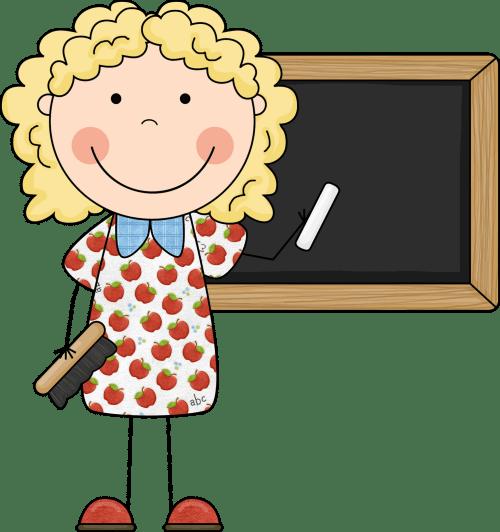 small resolution of cute teacher clipart